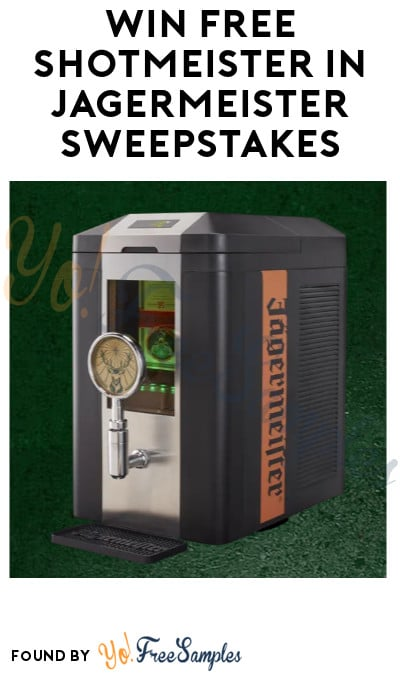 Win FREE Shotmeister in Jägermeister Sweepstakes (Ages 21 & Older Only)