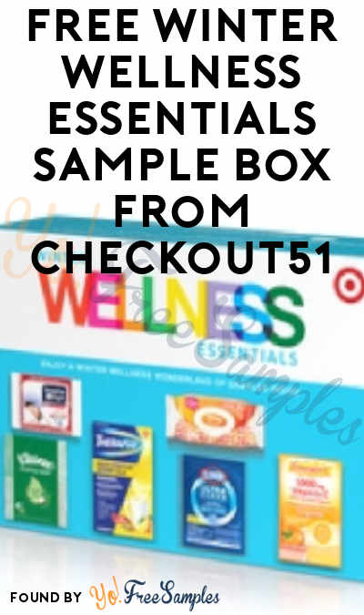 FREE Target Winter Wellness Essentials Sample Box From Checkout51