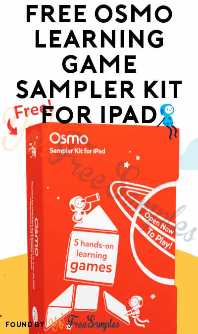 FREE Osmo Learning Game Sampler Kit For iPad [Verified Received By Mail]