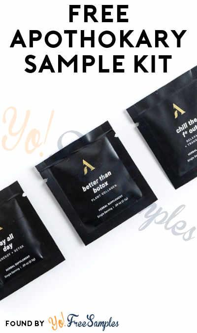 FREE Apothékary Sample Kit