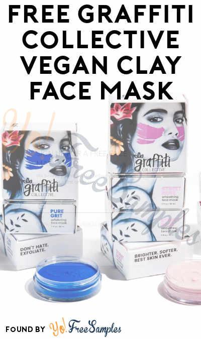 FREE Graffiti Collective Vegan Clay Face Mask
