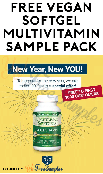 FREE Vegan Softgel Multivitamin Sample Pack
