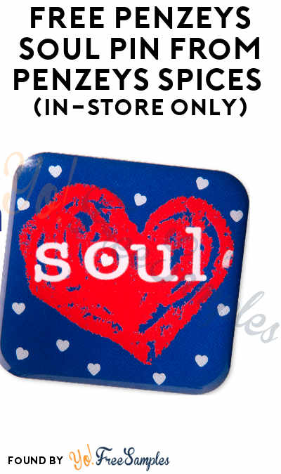 FREE Penzeys Soul Pin From Penzeys Spices (In-Store Only)