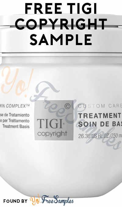 FREE TIGI Copyright Sample