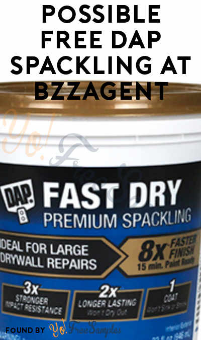 Possible FREE DAP Spackling At BzzAgent