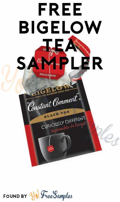 FREE Bigelow Tea Sample Pack