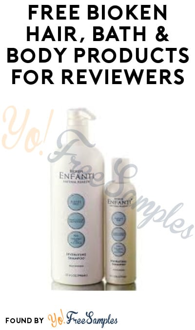 FREE Bioken Hair, Bath & Body Products for Reviewers (Must Apply)