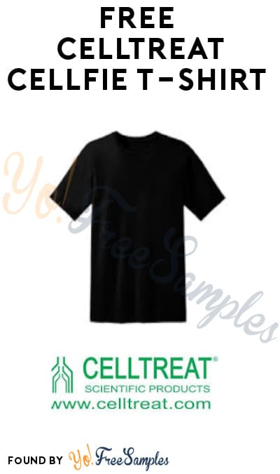 FREE Celltreat Cellfie T-Shirt (Company Name Required)