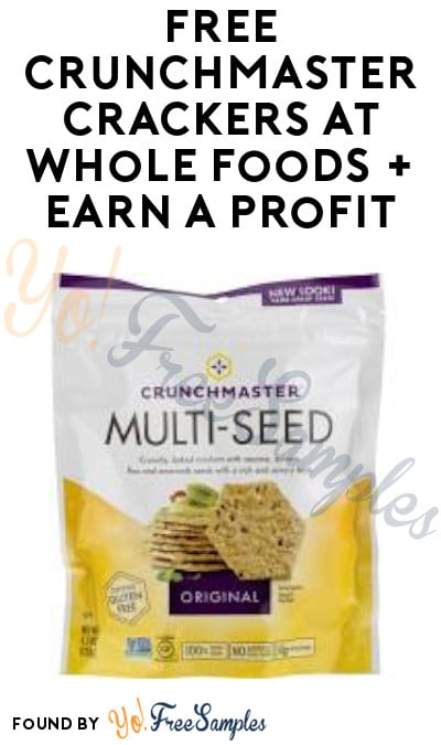 FREE Crunchmaster Crackers at Whole Foods + Earn A Profit (Ibotta & Coupon Required)