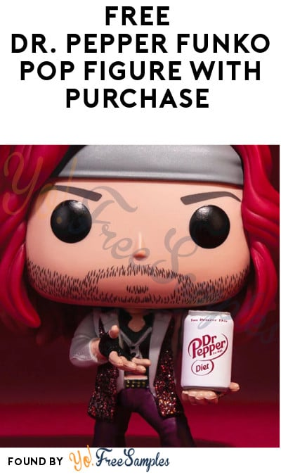 FREE Dr. Pepper Funko Pop Figures & T-Shirts with Purchase (Text Required)