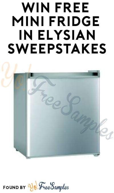Win FREE Mini Fridge in Elysian Sweepstakes (Ages 21 & Older Only)