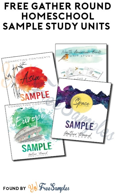 FREE Gather Round Homeschool Sample Study Units