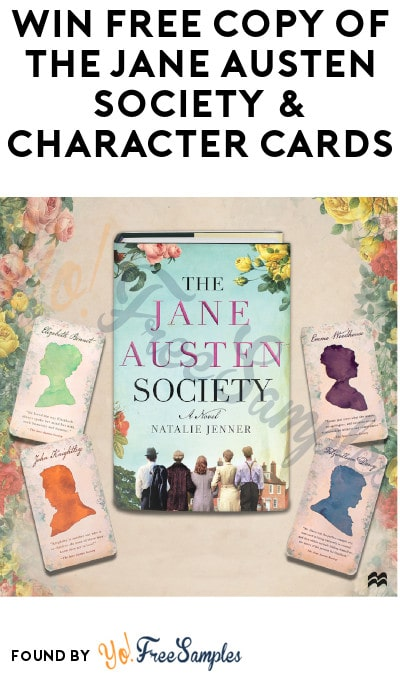 Win FREE Copy of The Jane Austen Society & Character Cards
