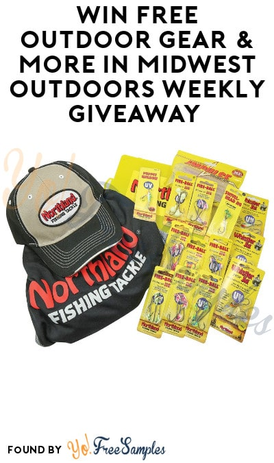 Win FREE Outdoor Gear & More in Midwest Outdoors Win Big Weekly Giveaway