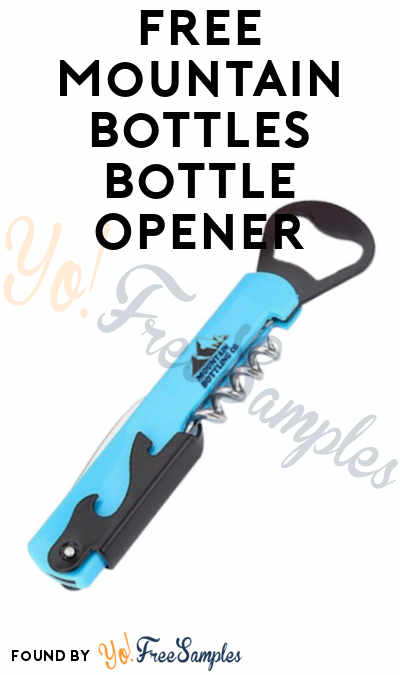 Possible FREE Mountain Bottles Bottle Opener