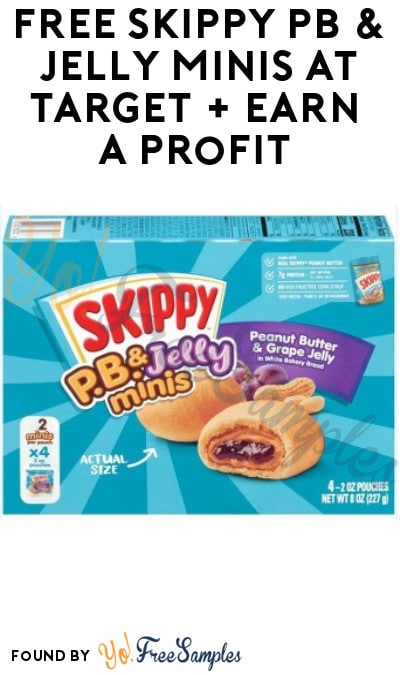 FREE Skippy PB & Jelly Minis at Target + Earn A Profit (Target Circle, Ibotta & Coupon Required)