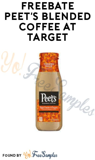 FREEBATE Peet's Blended Coffee at Target (Ibotta Required)