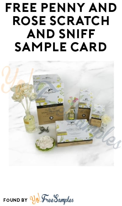 FREE Penny and Rose Scratch and Sniff Sample Card