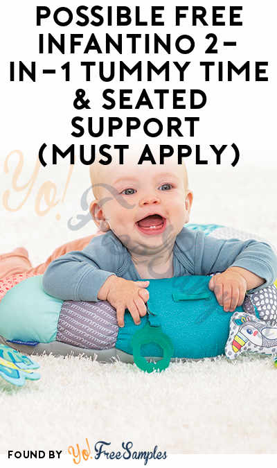 Possible FREE Infantino 2-in-1 Tummy Time & Seated Support (Must Apply)