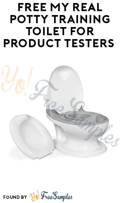 FREE My Real Potty Training Toilet for Product Testers (Must Apply)