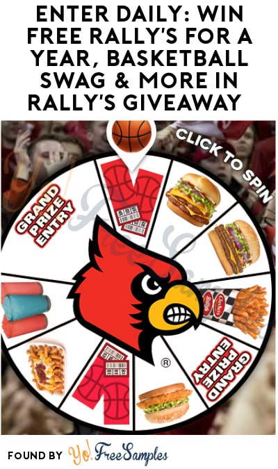 Enter Daily: Win FREE Rally's for a Year, Basketball Swag & More in Rally's Giveaway