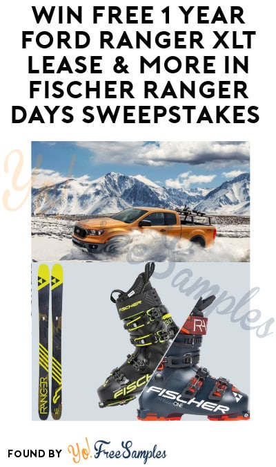 Enter Daily: Win FREE 1 Year Ford Ranger XLT Lease & More in Ranger Days Sweepstakes