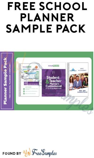 FREE School Planner Sample Pack (Educators Only)