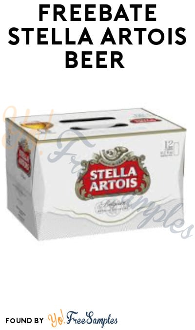 FREEBATE Stella Artois Beer (Ages 21 & Older Only)