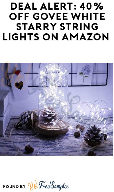DEAL ALERT: 40% Off Govee White Starry String Lights on Amazon