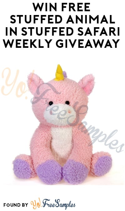 Win FREE Stuffed Animal in Stuffed Safari Weekly Giveaway