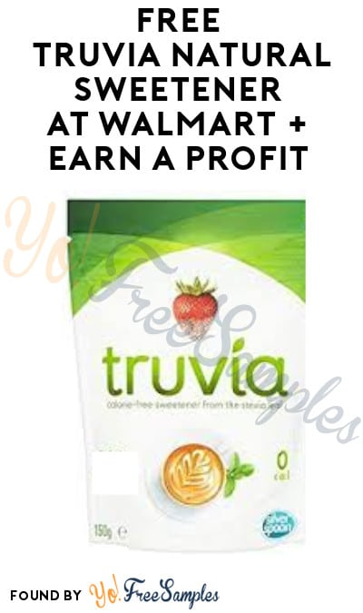 FREE Truvia Natural Sweetener at Walmart + Earn A Profit (Coupon & Ibotta Required)