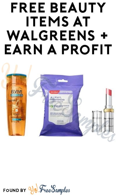 ENDS TODAY: FREE Beauty Items at Walgreens + Earn A Profit (Account Required)
