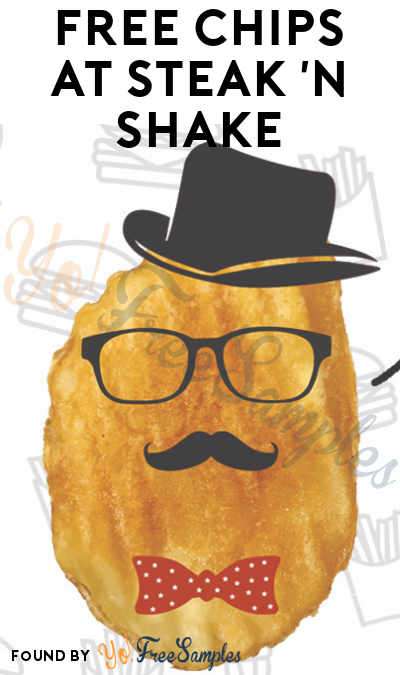 FREE Steak 'n Shake Potato Chips – No Purchase Required!