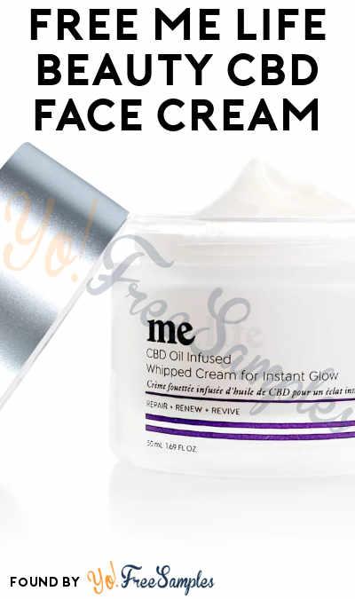 FREE Me Life Beauty CBD Face Cream