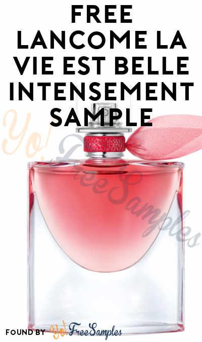 FREE Lancome La vie est belle Intensement Sample At BzzAgent (Must Apply)