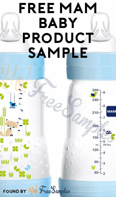 FREE MAM Baby Product Sample