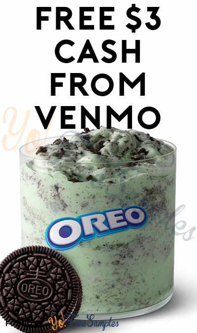 FREE $3 Cash From Venmo From Oreo