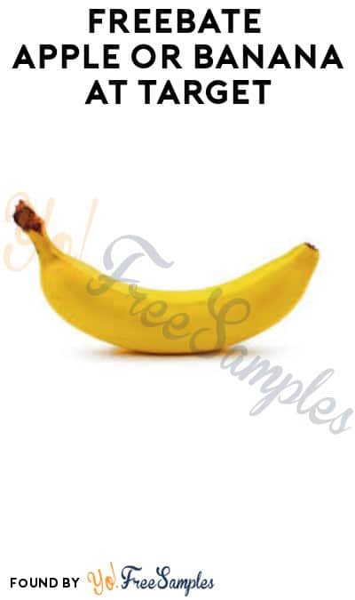 FREEBATE Apple or Banana at Target (Checkout51 Required + In-Store Only)