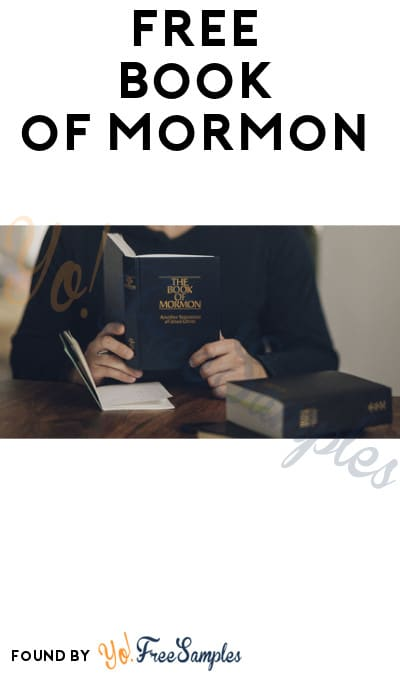 FREE Book of Mormon (Delivered in Person)