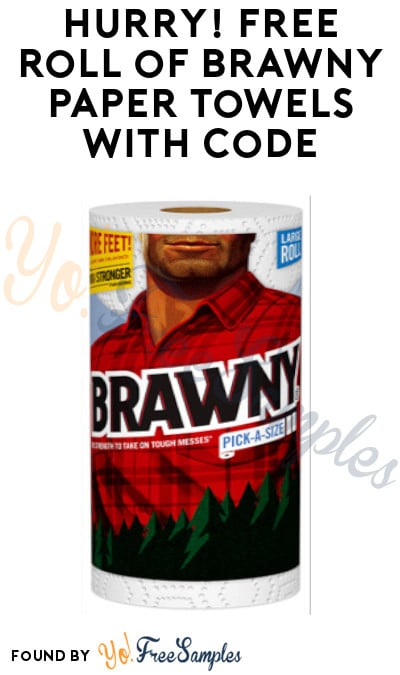 Possible FREE Roll of Brawny Paper Towels with Code