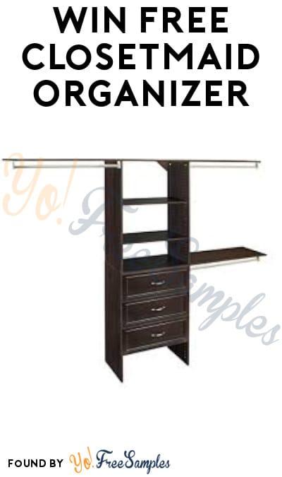 Win FREE ClosetMaid Organizer