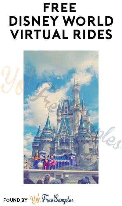 FREE Disney World Virtual Rides On YouTube