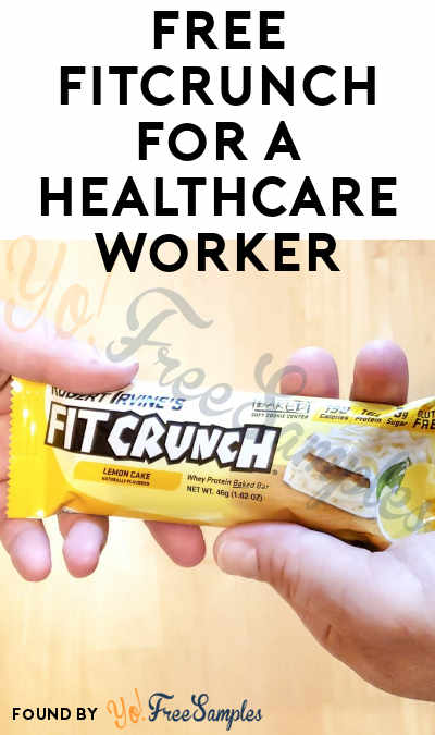 FREE FITCRUNCH For A Healthcare Worker