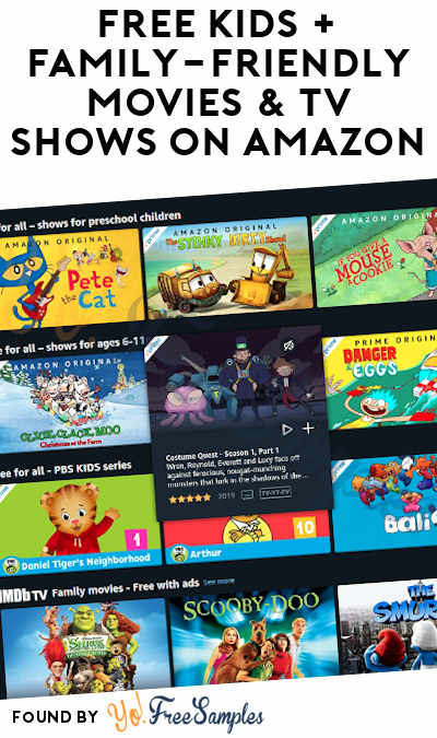 FREE Kids + Family-Friendly Movies & TV Shows On Amazon