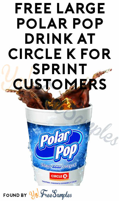 FREE Large Polar Pop Drink at Circle K For Sprint Customers