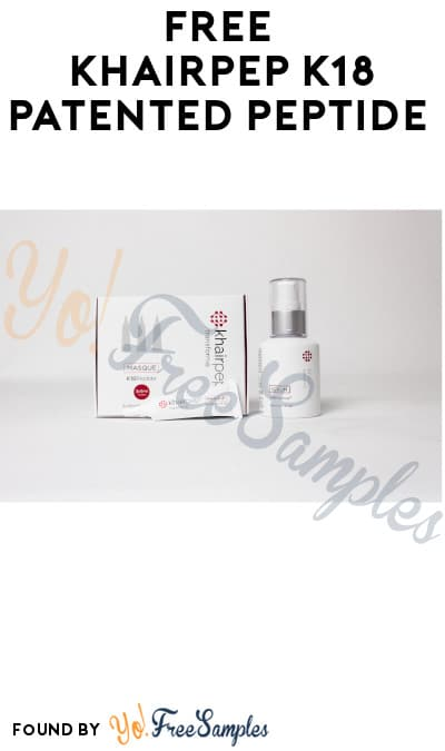 FREE KhairPep K18 Patented Peptide (Hair Professionals Only)