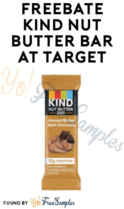 FREEBATE Kind Nut Butter Bar at Target (Ibotta Required)