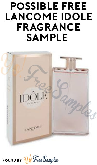 Possible FREE Lancome Idole Fragrance Sample (Facebook Required)