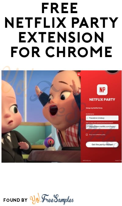 FREE Netflix Party Extension for Chrome