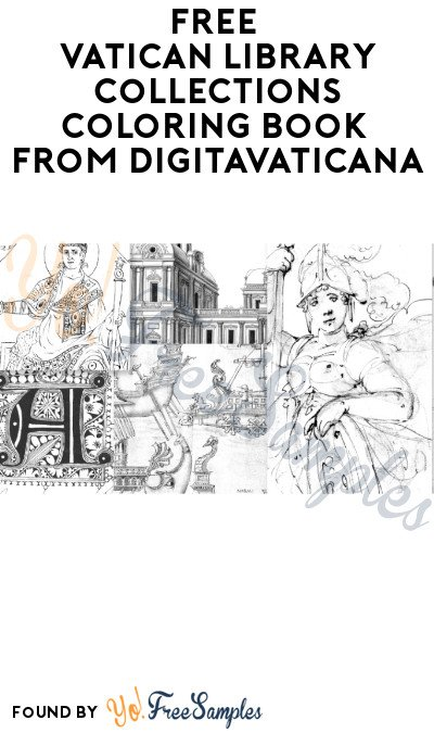FREE Vatican Library Collections Coloring Book from DigitaVaticana (Download Only)